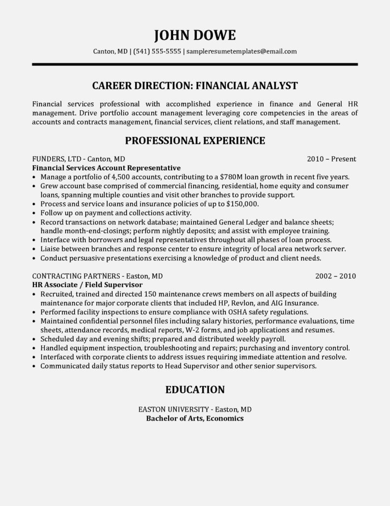 financial services account representative resume sample templates rep well designed Resume Financial Services Resume