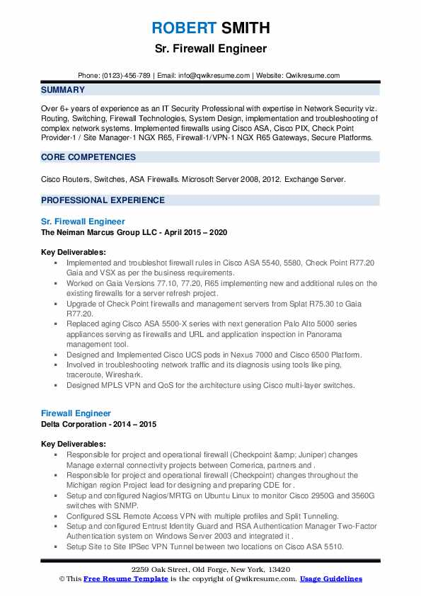 firewall engineer resume samples qwikresume checkpoint pdf auto mechanic skills writing Resume Checkpoint Firewall Engineer Resume