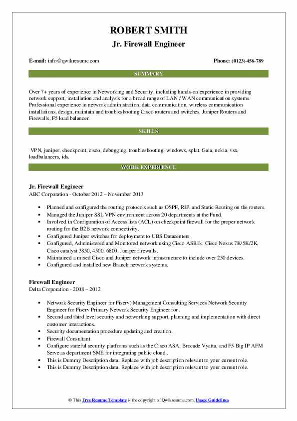 firewall engineer resume samples qwikresume experience pdf entry level truck driver Resume Firewall Experience Resume