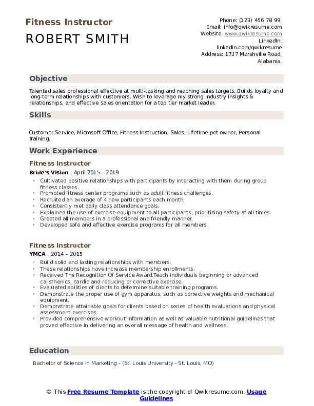 fitness instructor resume samples qwikresume for gym trainer job pdf big data testing Resume Resume For Gym Trainer Job