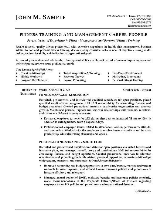 fitness trainer resume examples objective cover letter for personal duties auto Resume Personal Trainer Duties Resume