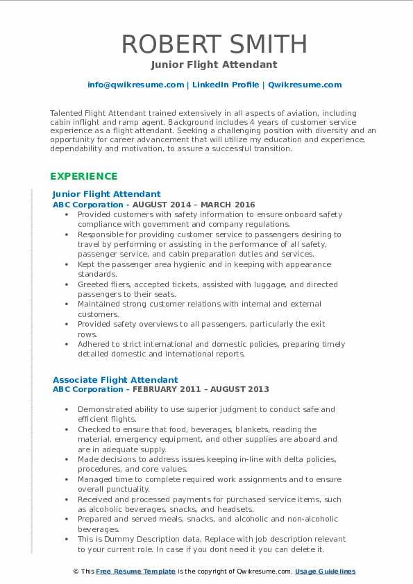 flight attendant resume samples qwikresume entry level pdf volunteer experience on review Resume Entry Level Flight Attendant Resume
