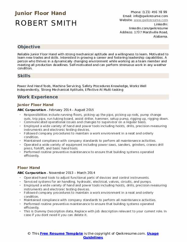 floor resume samples qwikresume self motivated examples pdf general office administration Resume Self Motivated Resume Examples