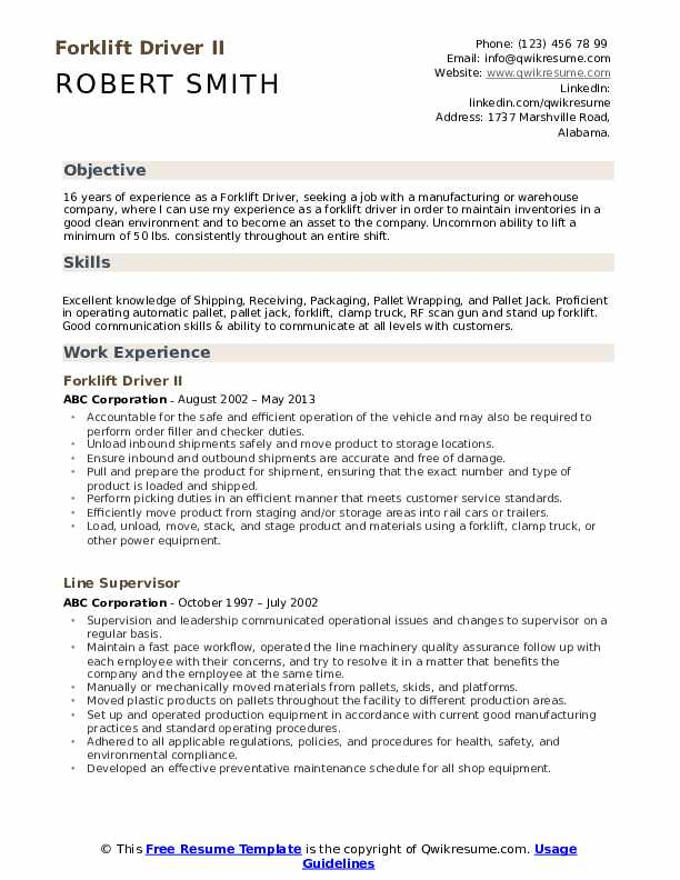 forklift driver resume samples qwikresume operator summary for pdf google examples doctor Resume Forklift Operator Summary For Resume
