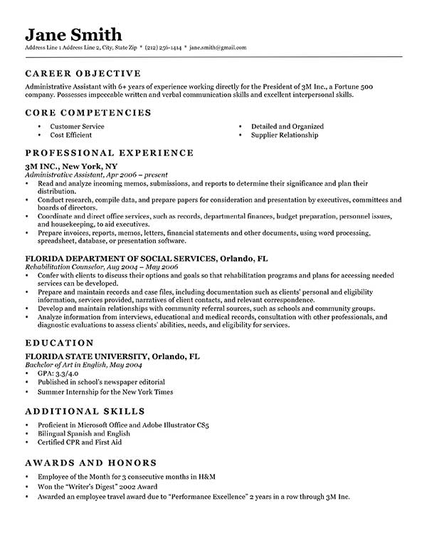 free classic resume templates in microsoft word format creativebooster formal template Resume Formal Resume Template Word