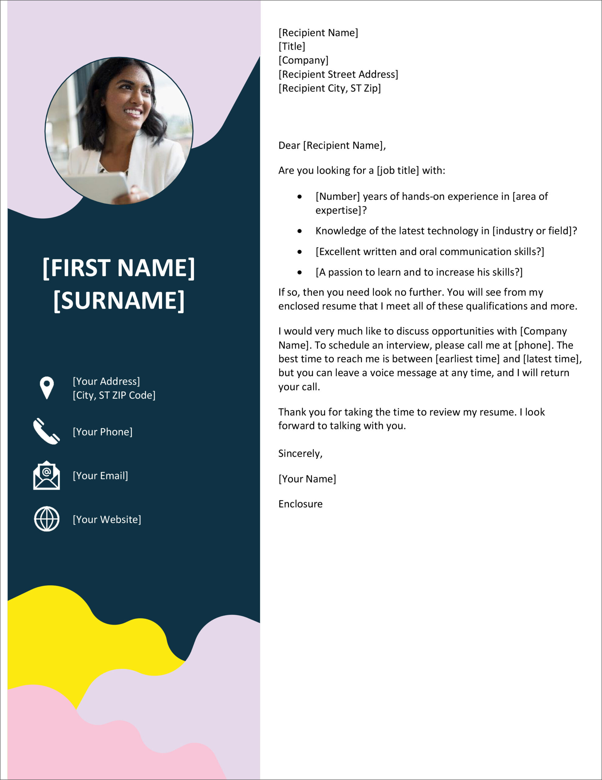 free cover letter templates for microsoft word and google docs resume template sap test Resume Resume Cover Letter Template Word