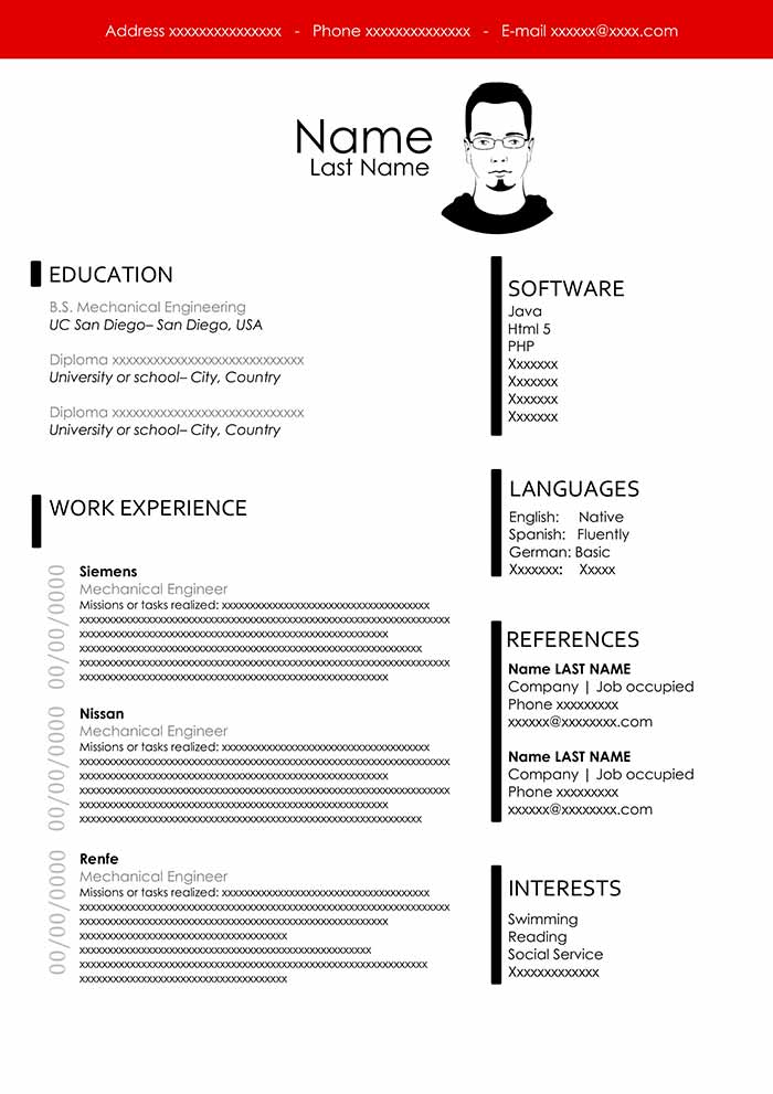 free engineering resume template for word technical layout engineer pronounce training Resume Technical Resume Layout