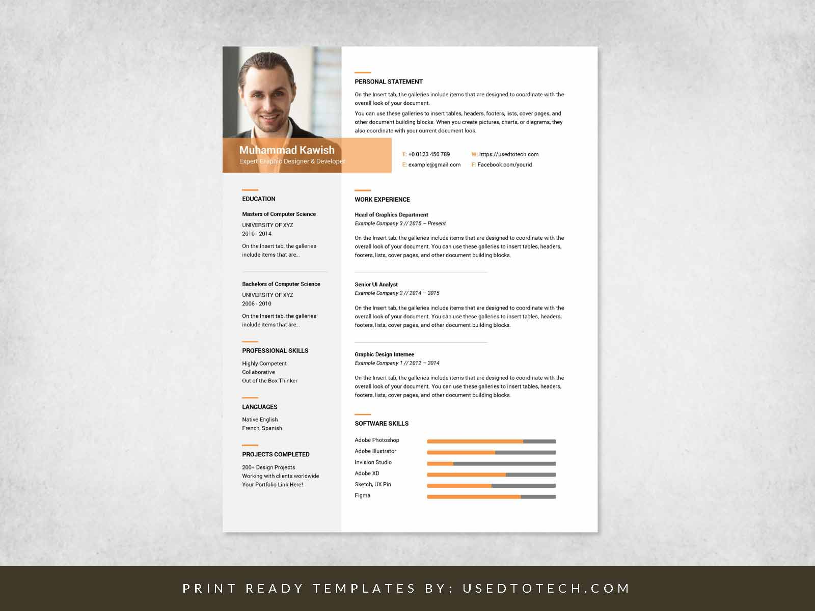 free inspiring graphic designer resume in ms word used to tech indeed login factory Resume Graphic Designer Resume