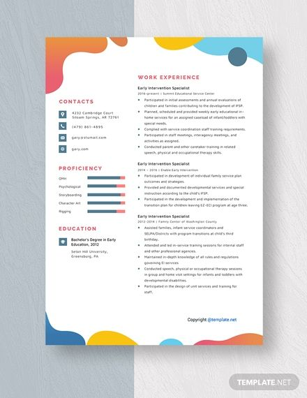 free intervention specialist resume template in manager slick preparation for experienced Resume Early Intervention Specialist Resume
