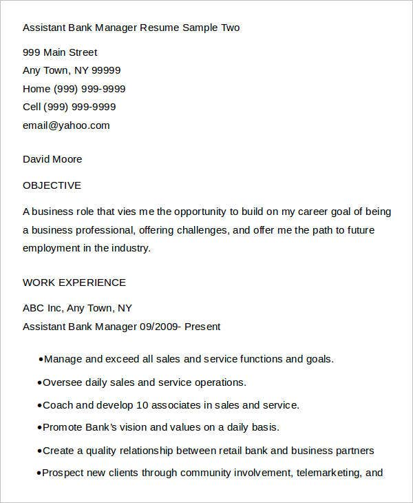 free manager resume templates pdf premium format for assistant quality bank leadership Resume Resume Format For Assistant Manager Quality
