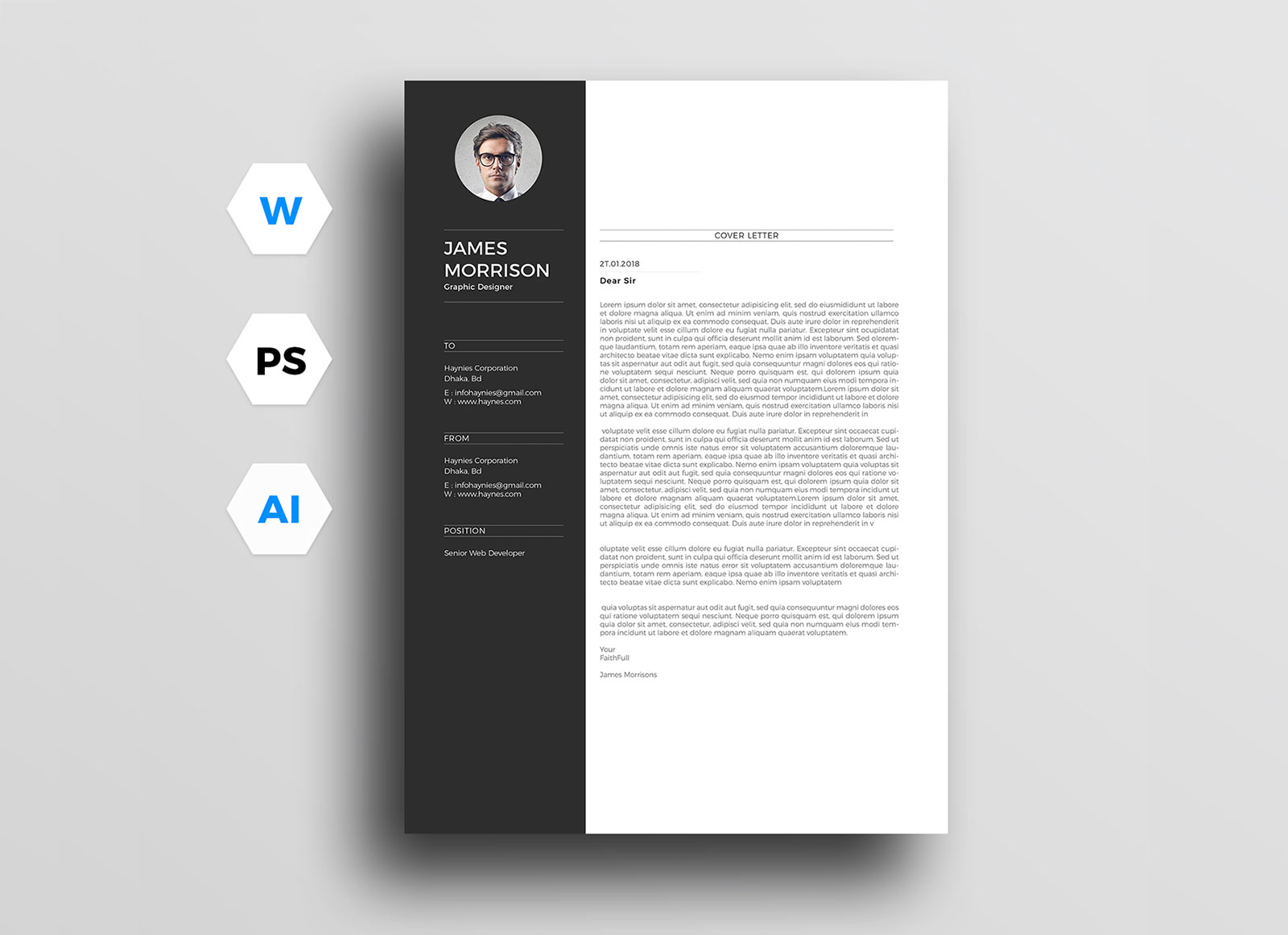 free minimal cv resume template in word good minimalist career objective for lawyers Resume Minimalist Word Resume Template