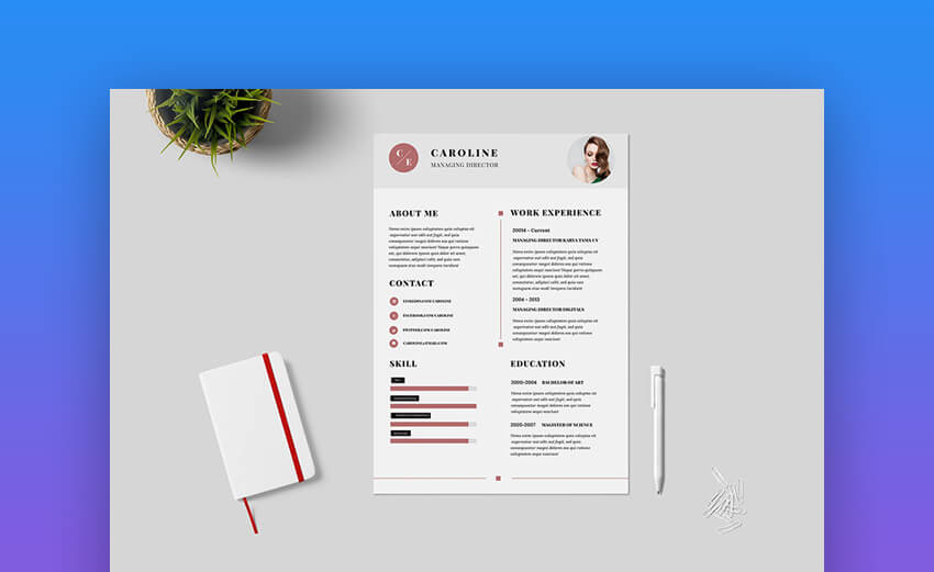 free minimalist resume templates word indesign more cv designs template minimal best Resume Minimalist Word Resume Template