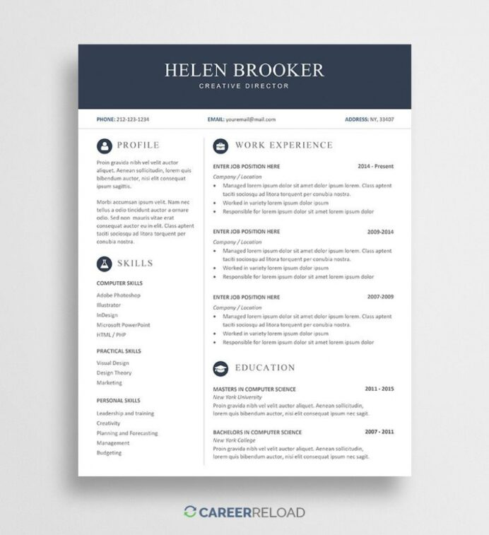 free ms word resume templates addictionary unusual highest quality coaching template best Resume Free Resume Templates Word 2020