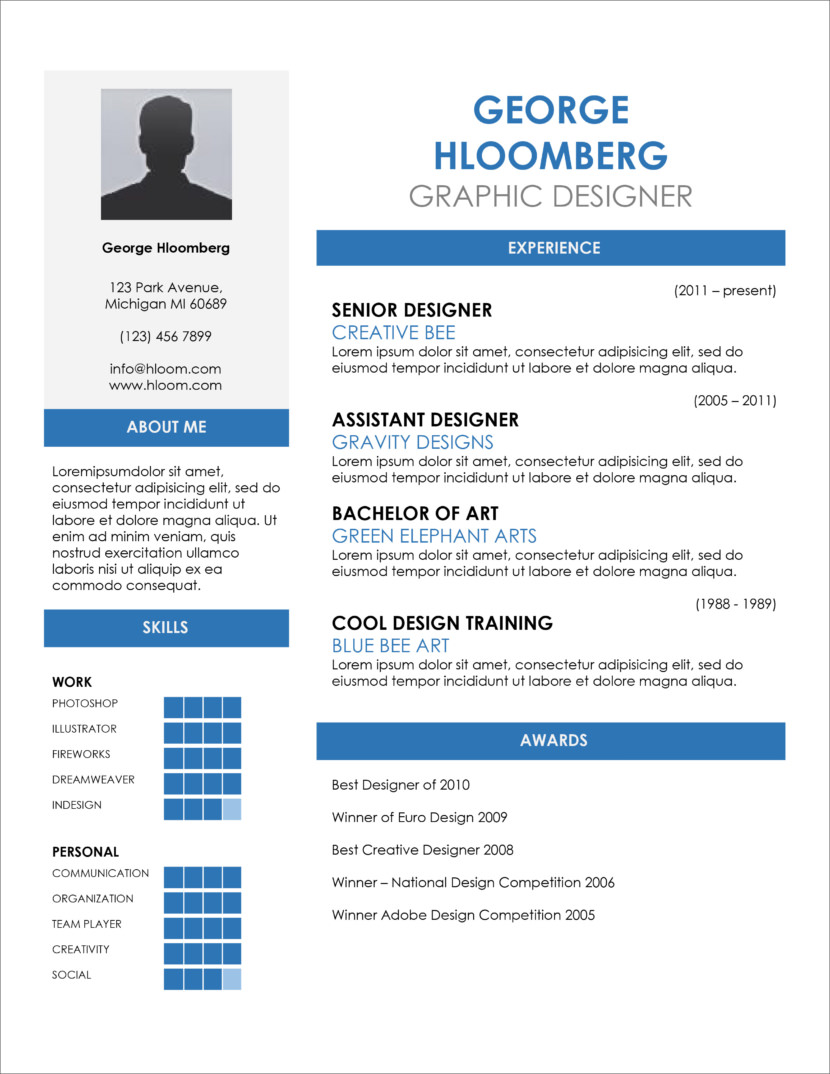 free one resume templates microsoft word template creative google docs name title Resume Microsoft Word One Page Resume Template