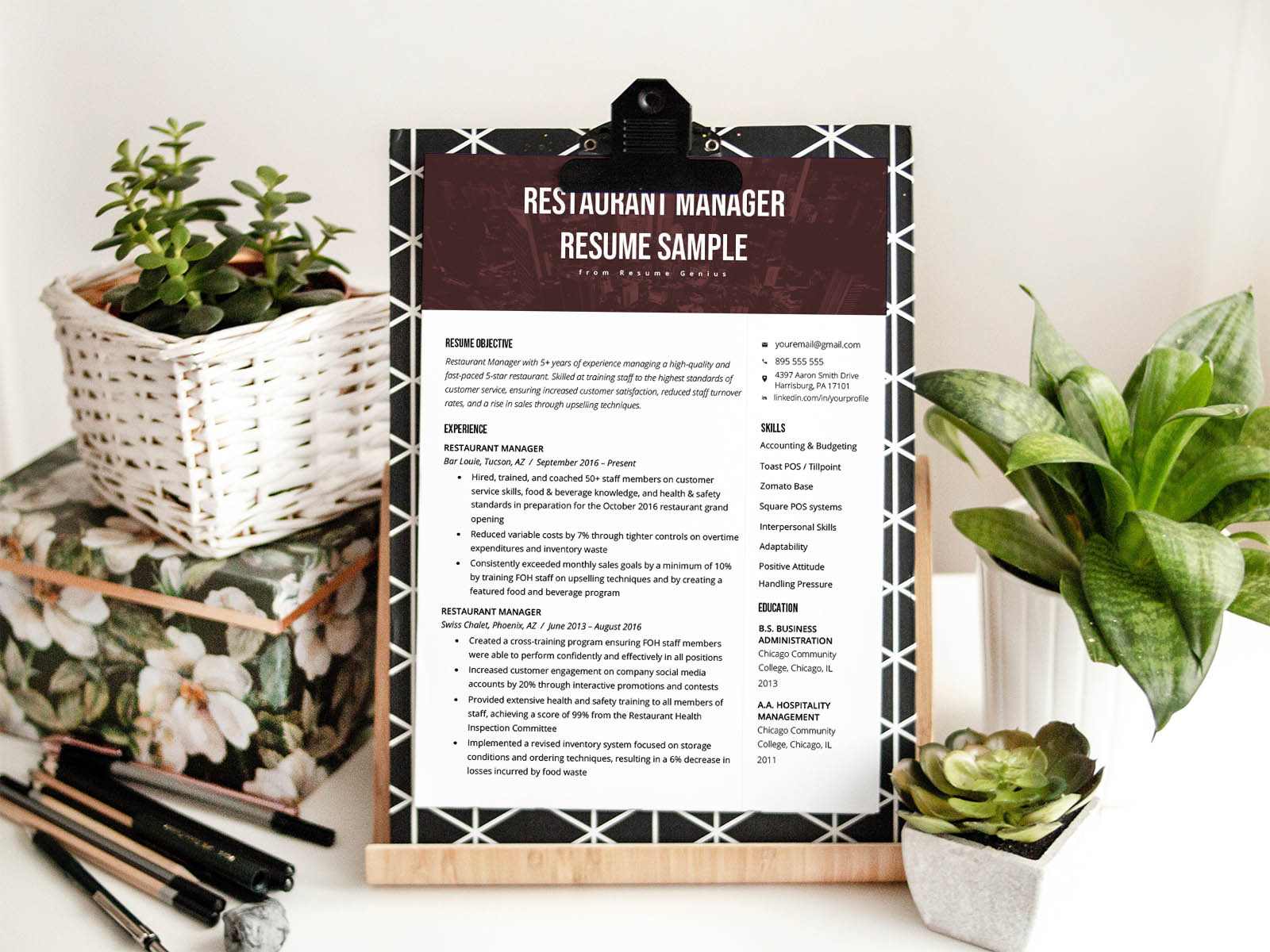 free restaurant manager resume template with sample text social services workday bus Resume Free Restaurant Manager Resume