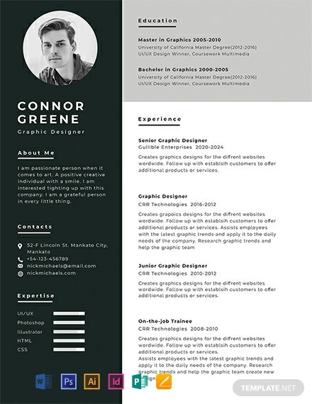 free resume cv templates word indesign apple publisher illustrator template net company Resume Company Resume Template