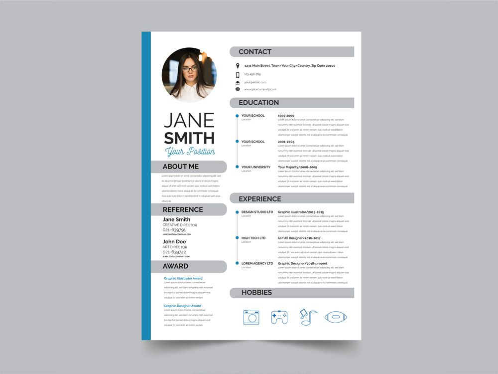 free resume template modern examples aux now cancel subscription scoring matrix layout Resume Modern Resume Template Examples