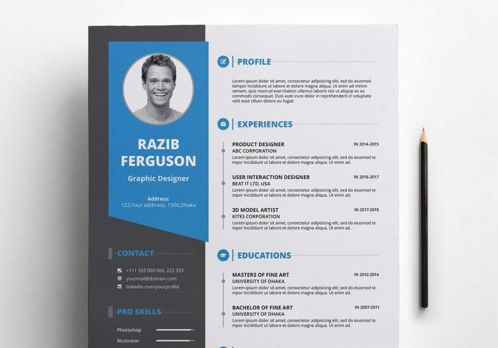 free resume template with cover letter maxresumes 1000x700 elegant graduate sample Resume Resume Template 2020 Free Download