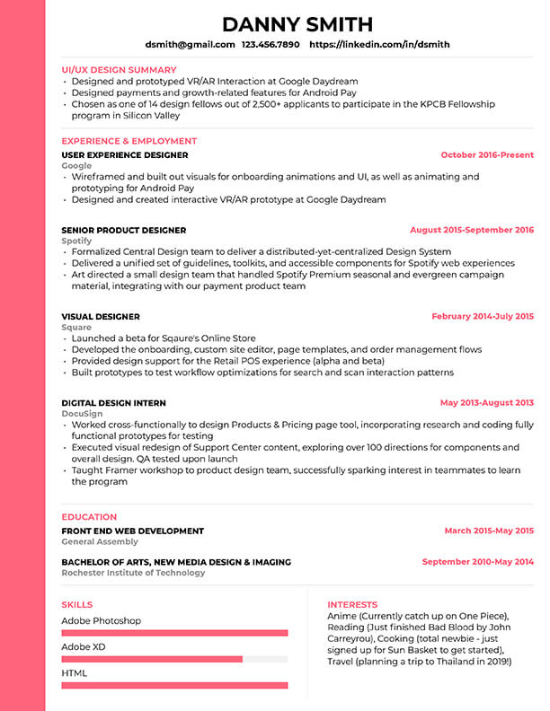 free resume templates for edit cultivated culture one template with photo template1 make Resume One Page Resume Template With Photo Free Download