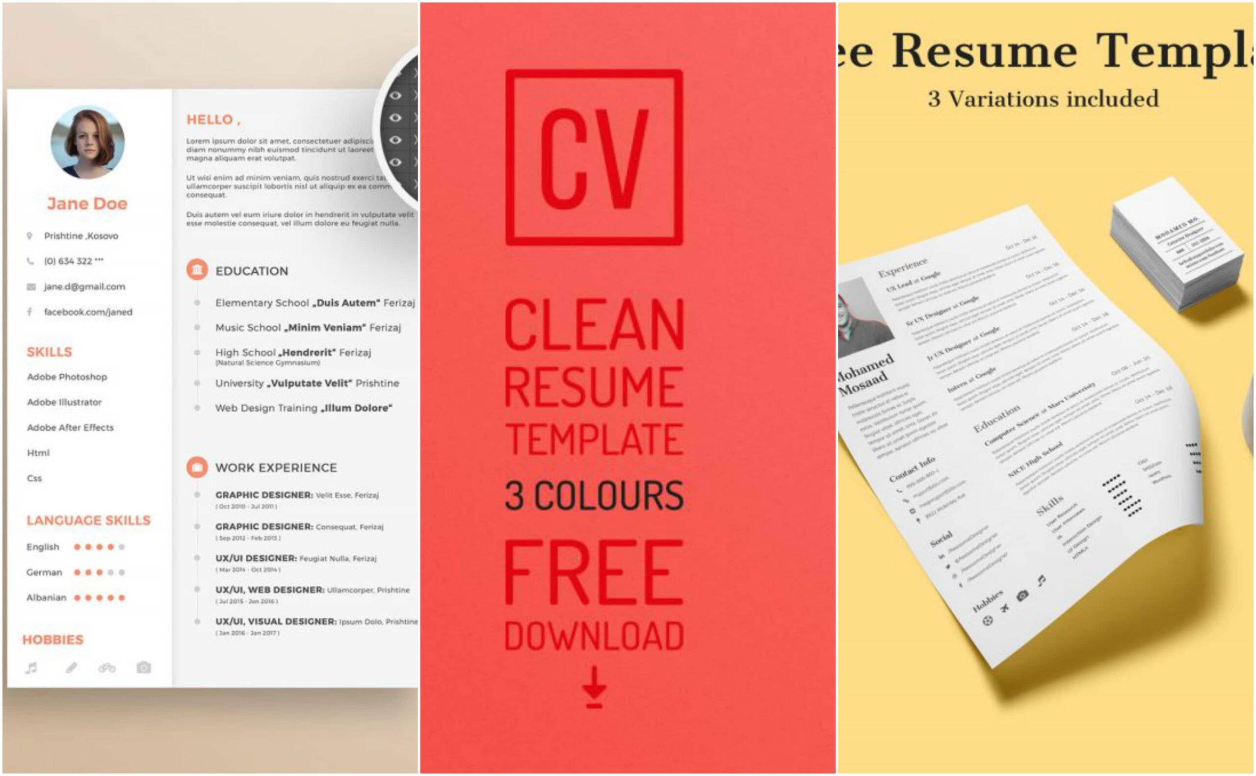 free resume templates for your next application inspirationfeed actually template entry Resume Actually Free Resume Templates