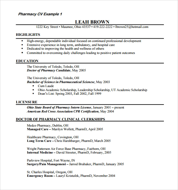 free sample doctor resume templates in pdf format for doctors pharmacy template and Resume Resume Format For Doctors