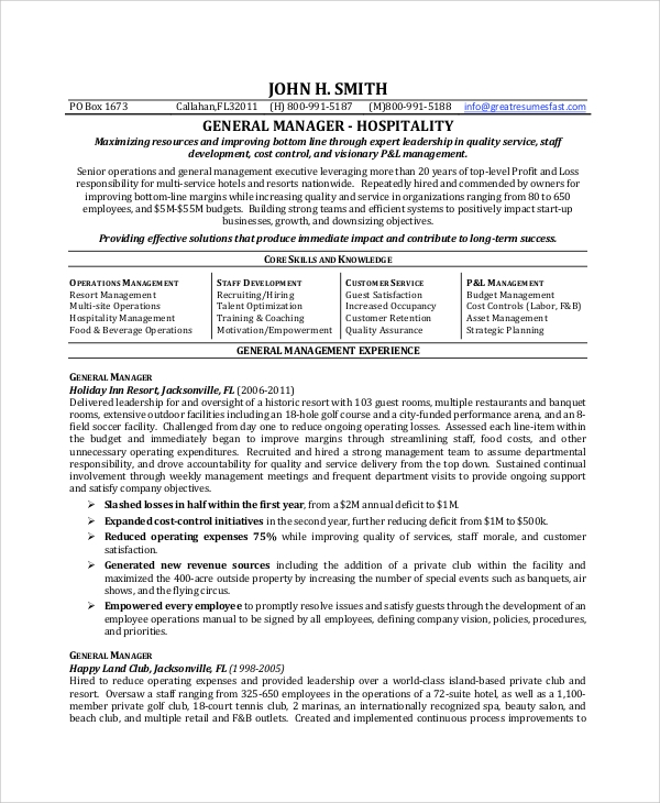free sample general resume objective templates in pdf ms word for manager mockup Resume Resume Objective For Manager