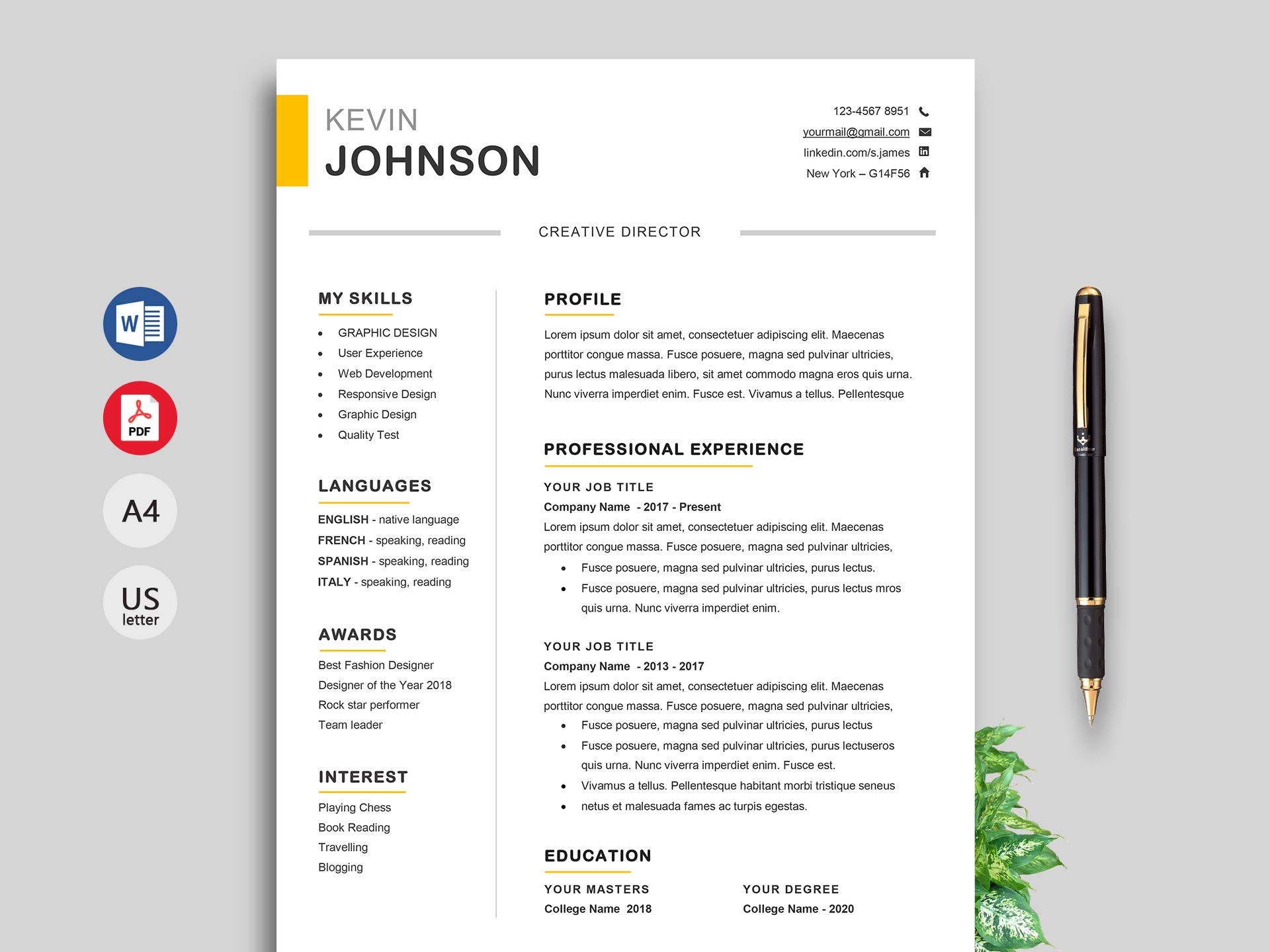 free simple resume cv templates word format resumekraft indian fashion designer winner Resume Indian Fashion Designer Resume