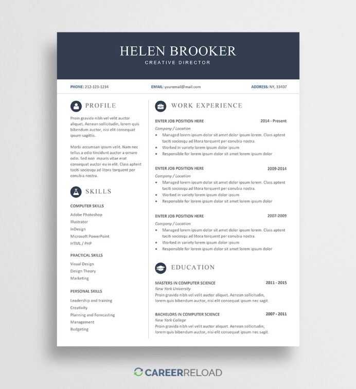 free word resume templates microsoft cv office template helen national writers Resume Office Word Resume Template Free