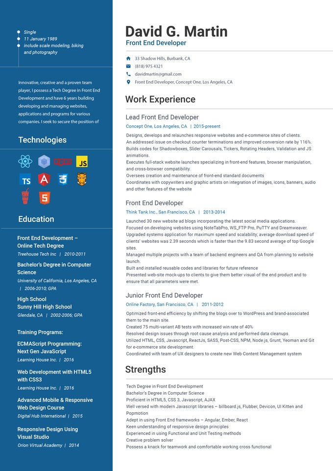 front end web developer resume samples itguyresumes engineer examples trainer ideal Resume Front End Engineer Resume Examples