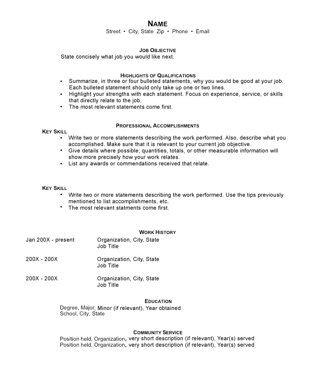 functional resumes sample templates and examples reentering the workforce resume pre Resume Reentering The Workforce Resume Examples