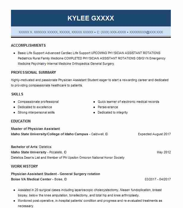 general surgery physician assistant resume example eastern health network wallingford job Resume Physician Assistant Resume Job Description