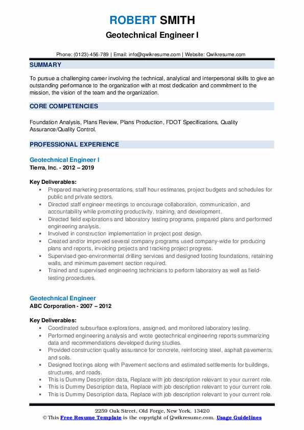 geotechnical engineer resume samples qwikresume pdf creating the perfect philippine Resume Geotechnical Engineer Resume