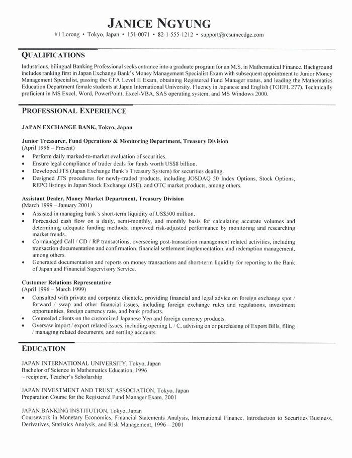 graduate school application resume unique admissions for teacher examples technical Resume Graduate School Application Resume Examples