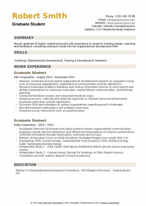 graduate student resume samples qwikresume university summary pdf healthcare domain Resume University Student Resume Summary