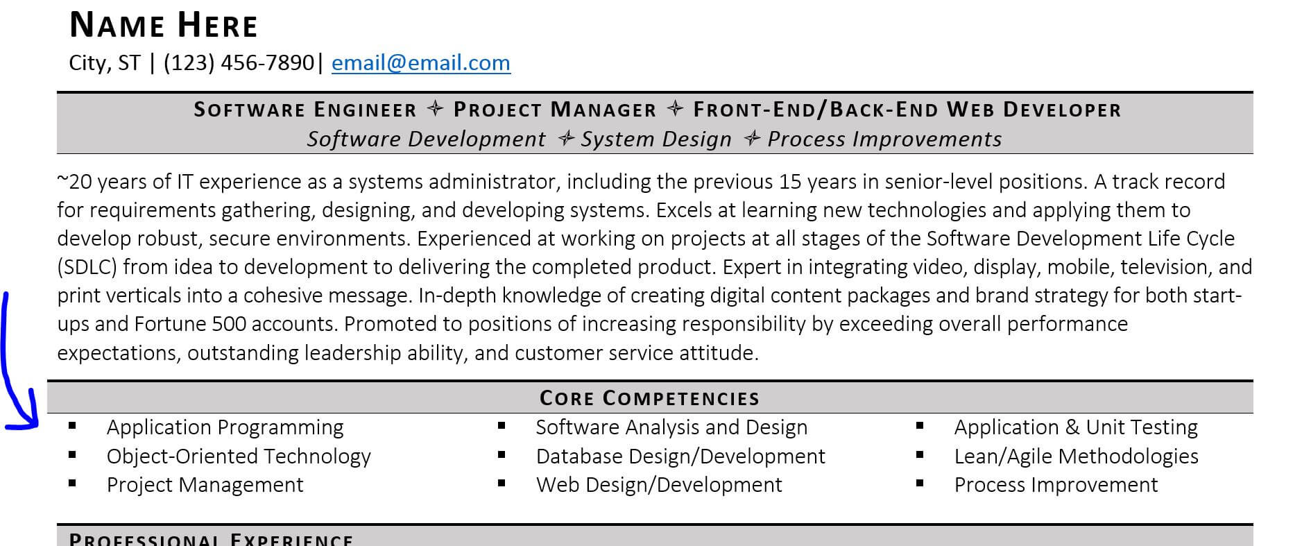 guide to technical skills on your resume highlight core competencies automotive service Resume Highlight Skills On Resume