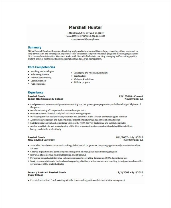 health coach resume assistant sample best ever funny listing employment on human Resume Assistant Coach Resume Sample