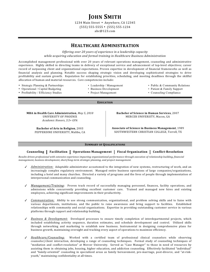 healthcare administration resume by mia objective free template with headshot latin word Resume Healthcare Resume Objective