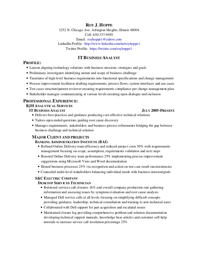 healthcare business analyst resume sample january domain project description for roy Resume Healthcare Domain Project Description For Resume