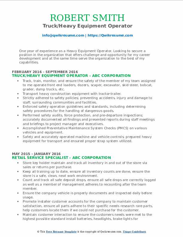 heavy equipment operator resume samples qwikresume supervisor pdf dorothy human resources Resume Heavy Equipment Operator Supervisor Resume