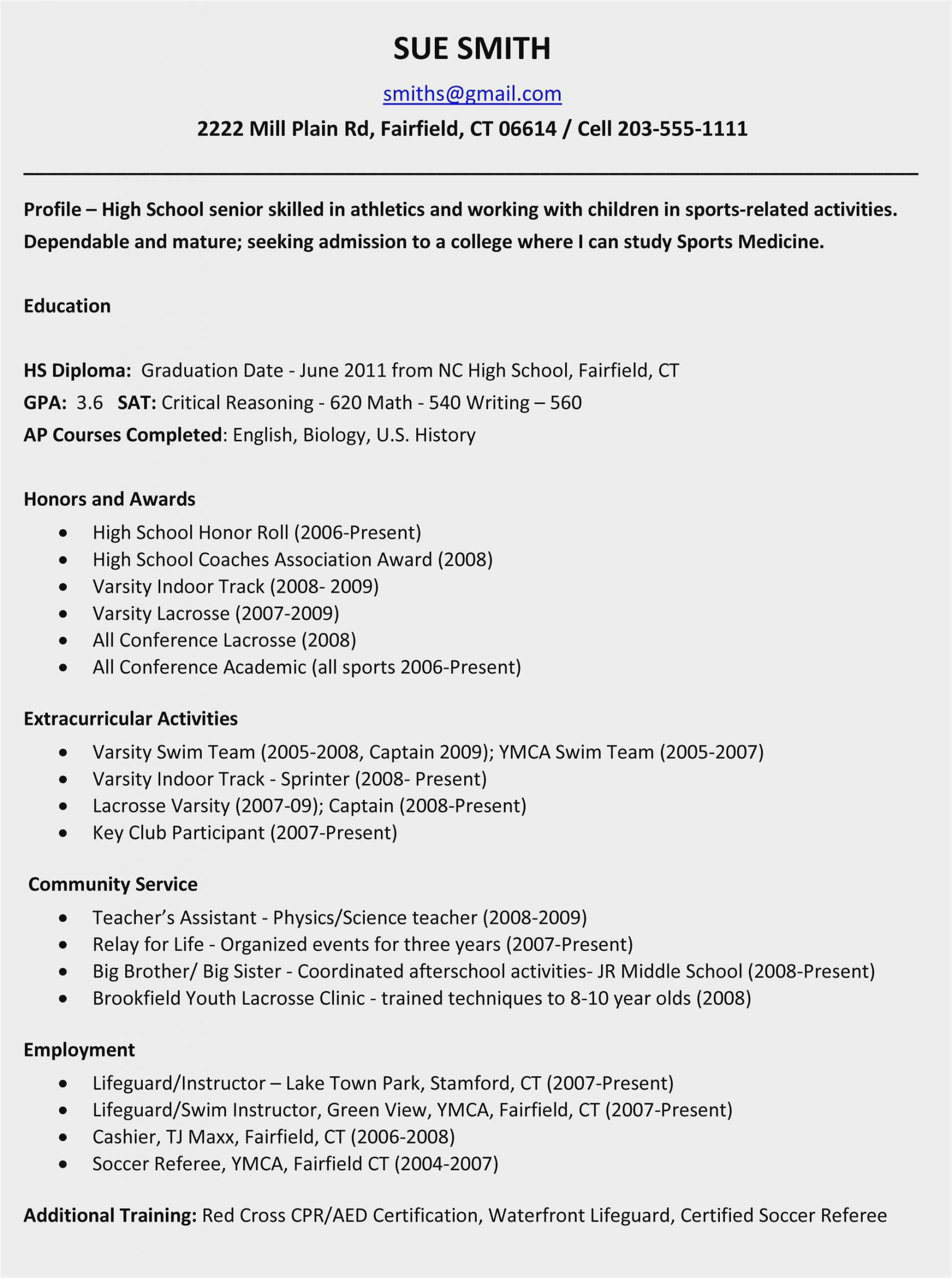 high school resume examples for college applications sample activities scaled social Resume Activities Resume For College