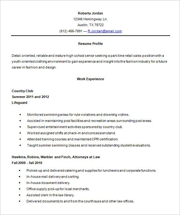 high school resume template sample templates free students for account assistant indian Resume Resume Templates Free High School Students
