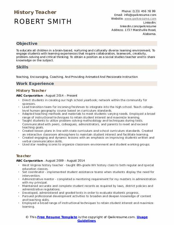 history teacher resume samples qwikresume transition out of teaching pdf mba application Resume Transition Out Of Teaching Resume