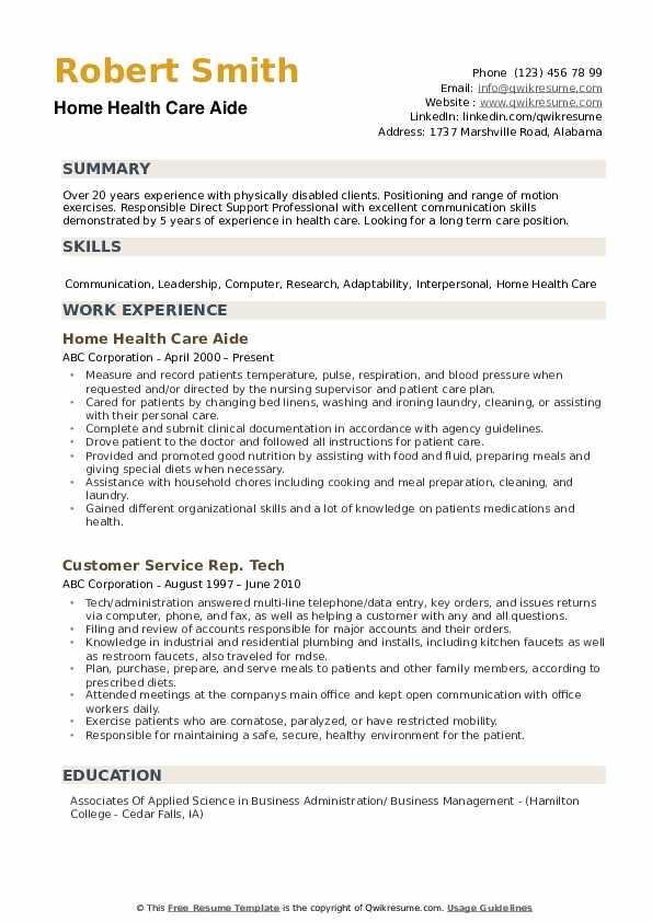 home health care aide resume samples qwikresume sample pdf multiple locations same Resume Home Health Aide Resume Sample