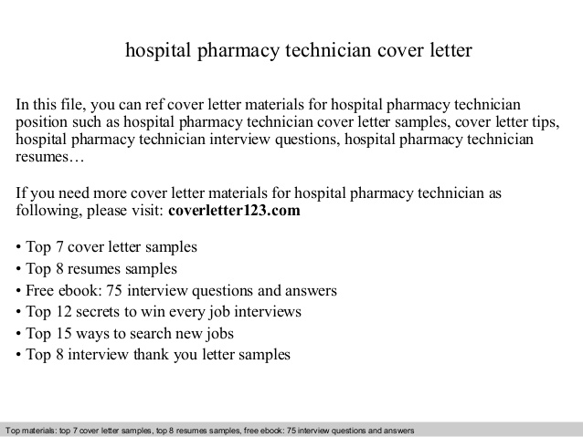 hospital pharmacy technician cover letter inpatient resume college template communication Resume Inpatient Pharmacy Technician Resume