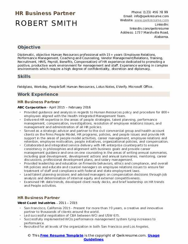 hr business partner resume samples qwikresume human resources pdf research assistant Resume Human Resources Business Partner Resume