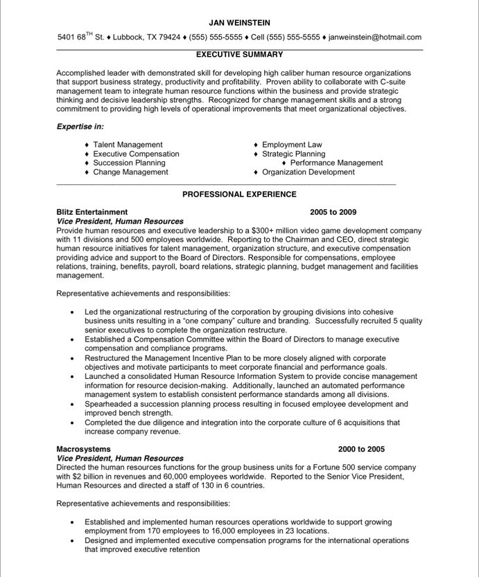 hr executive free resume samples blue sky resumes employee relations 24before sample Resume Employee Relations Resume