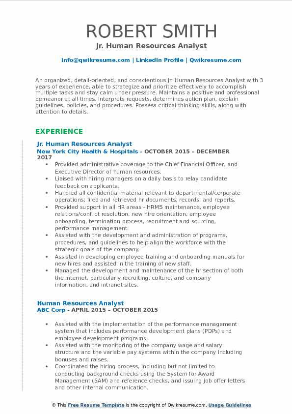 hr reporting analyst resume november human resources pdf research director platform Resume Reporting Analyst Resume