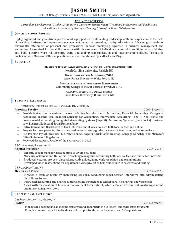 ideal resume length template example objective for customs officer injection molding Resume Wake Forest Resume Template