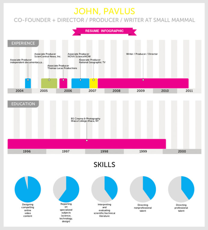 infographic of the visualize instantly turns your resume into template with pie chart Resume Resume Template With Pie Chart