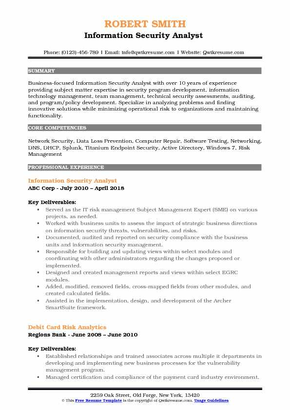 information security analyst resume samples january incident response pdf reader solar Resume Incident Response Analyst Resume